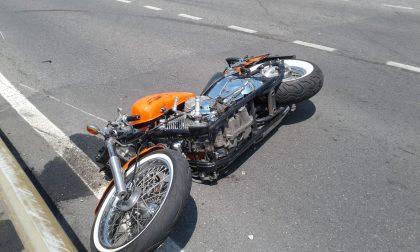 Scontro tra due moto a Salò