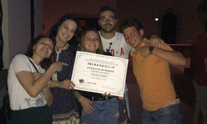 I ragazzi dell'oratorio di Trenzano vincono un importante premio