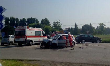 Incidente sulla rotonda sulla Sp29 tra Calvisano e Carpenedolo