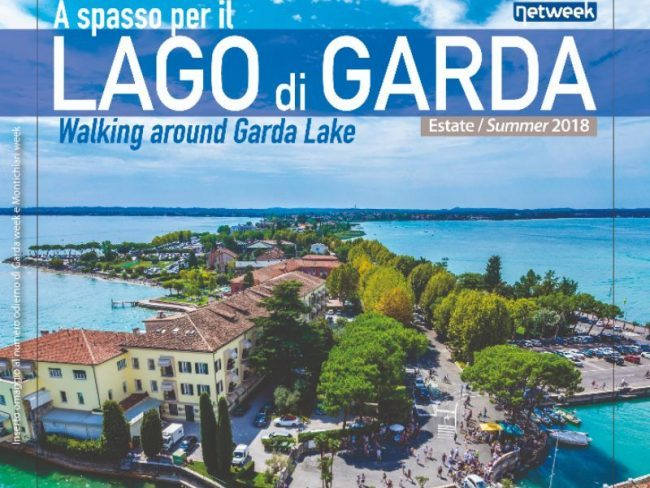 Alla scoperta del lago di Garda arriva nelle edicole