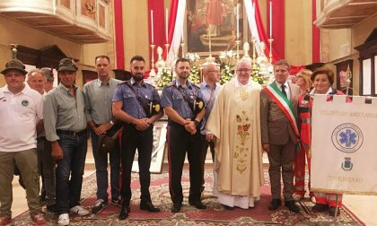 Cossirano in festa per don Endrio per i 25 anni di sacerdozio