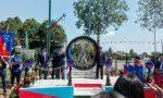 Monumento carristi inaugurato oggi a Santa Giustina, Montichiari