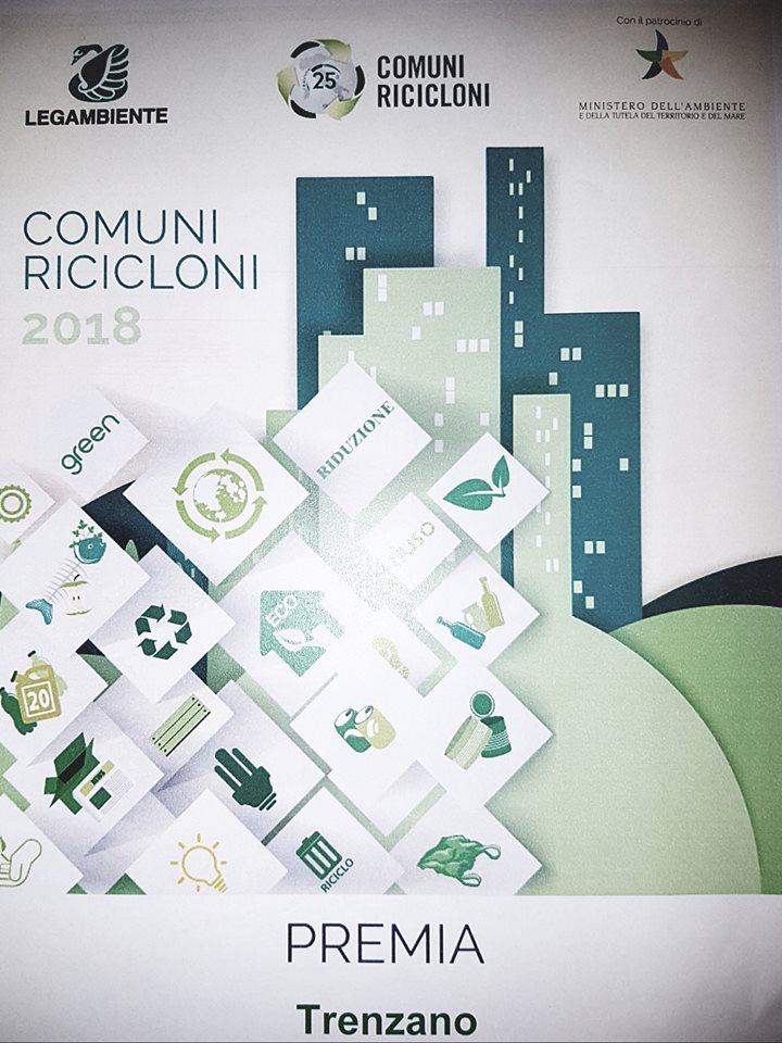 Trenzano tra i migliori Comuni della Regione si piazza al 4° posto continuando la linea virtuosa della corretta gestione dei rifiuti
