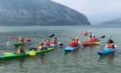 Tutti in acqua al Sassabanek con il sollevatore