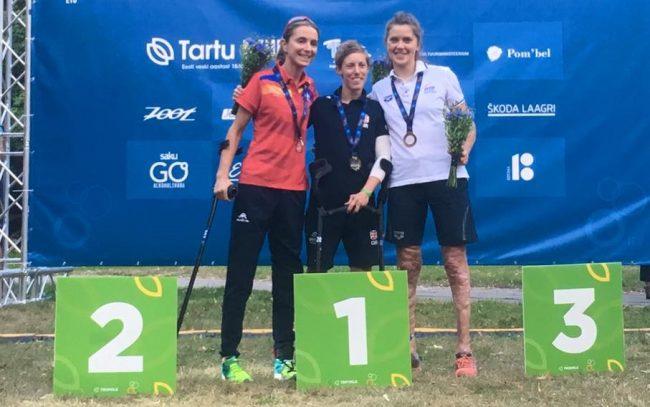 Campionati europei Veronica medaglia di bronzo nel paratriathlon