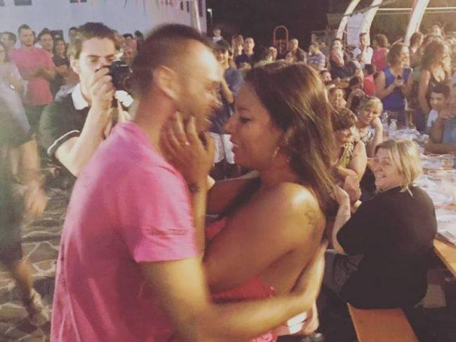 Proposta di matrimonio con flash mob a Travagliato VIDEO