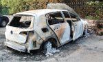 Bruciate di notte le auto di un carabiniere