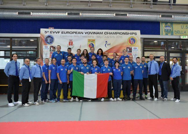 L'Italia è campione d'Europa nell&#8217&#x3B;arte marziale Vovinam
