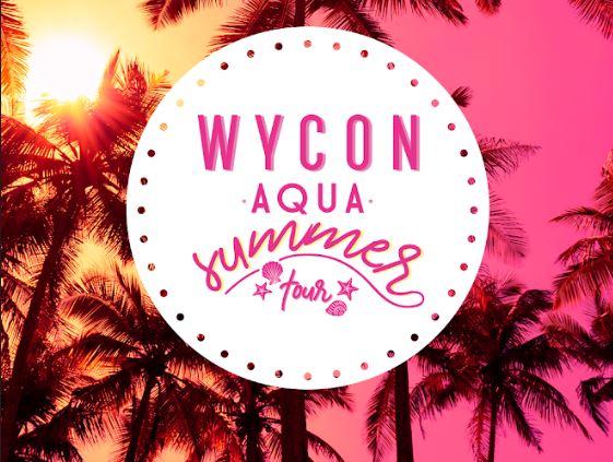 Estate rovente con in Wycon Aqua Summer Tour
