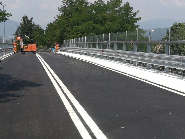 Riaperto il ponte in via Ghislandi a Roncadelle