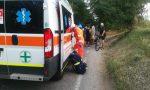 Cade dalla bici a San Felice del Benaco: in ospedale un 61enne