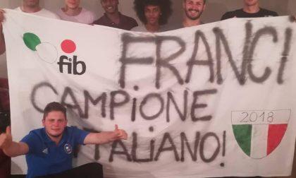 Mairano festeggia Francesco Cappa, campione italiano di bocce