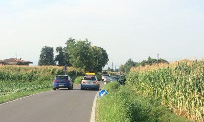 Strada ristretta per un incidente tra Lonato ed Esenta