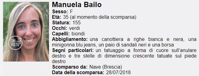 La 35enne Manuela Bailo è scomparsa da 11 giorni: sempre più giallo