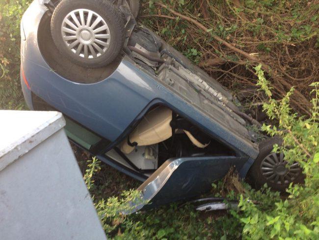 Elisoccorso a Verolanuova per incidente stradale