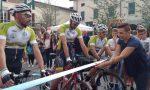 """Da Chiari a Firenze in bicicletta """"per un sorriso in più"""" FOTO E VIDEO"""