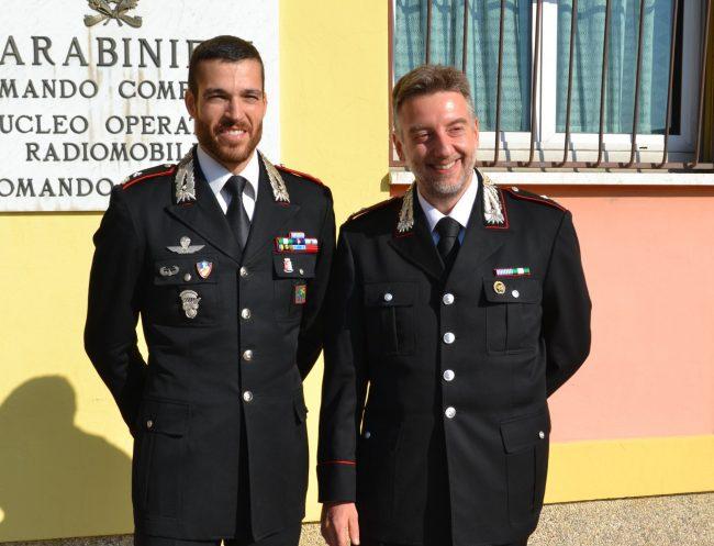 Nuovo comandante dei Carabinieri a Chiari al posto del maggiore Giovino
