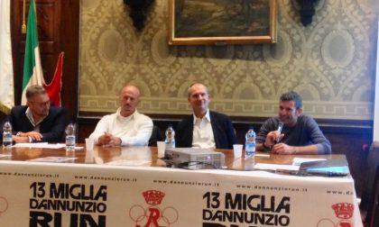 A Gardone Riviera presentata la prima 13 Miglia d'Annunzio Run