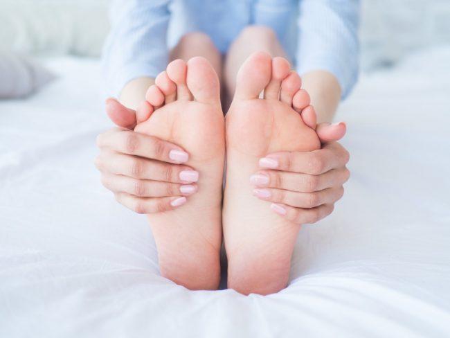 prevenire il mal di piedi