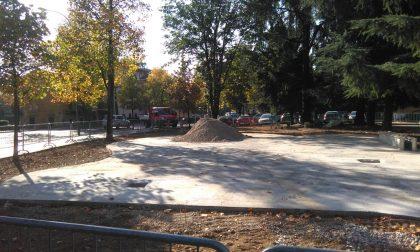 Parco di viale Mellini a Chiari: pronto nelle prossime settimane