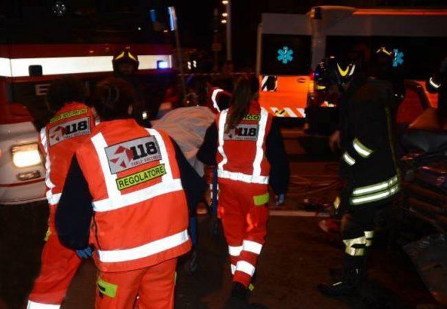 Incidenti a Palazzolo, Brescia, Gardone SIRENE DI NOTTE