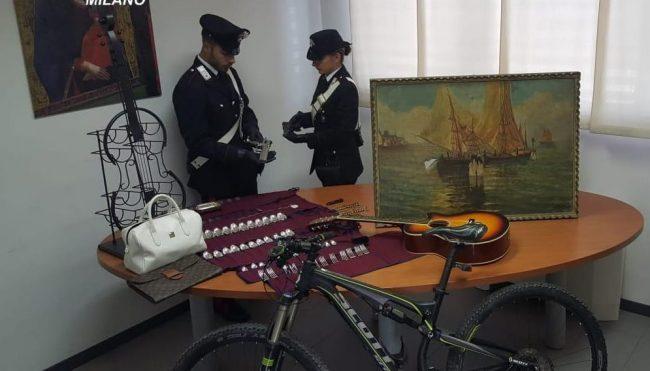Recuperata la refurtiva di alcuni furti in casa a Palazzolo