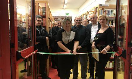 Taglio del nastro alla biblioteca rinnovata di Sirmione