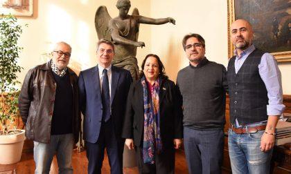 Ambasciatrice della Palestina in visita a Brescia