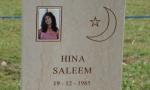 Hina Saleem senza pace: tolta la foto della tomba dal fratello