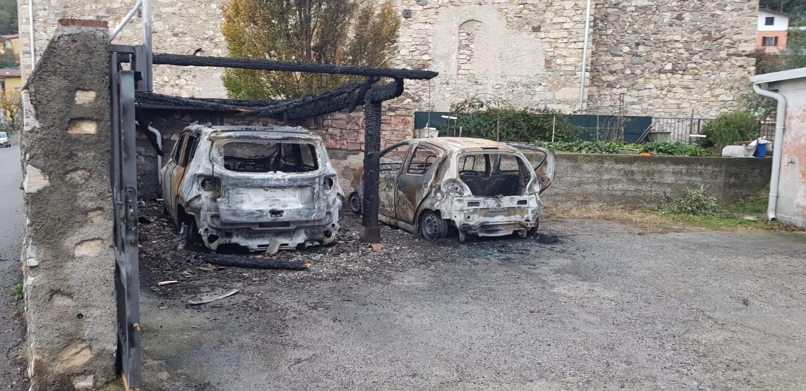 Ancora auto in fiamme a Provaglio d'Iseo - Brescia Settegiorni