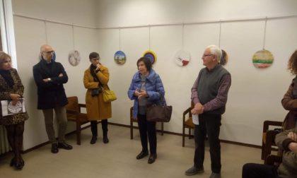 Arte in Tondo: inaugurata la mostra a Palazzolo sull'Oglio