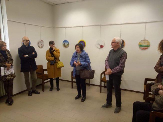 Arte in Tondo: inaugurata la mostra a Palazzolo sull&#8217&#x3B;Oglio