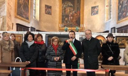 Inaugurata la mostra in ricordo di Renato Rubagotti a Coccaglio VIDEO