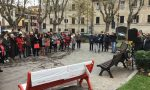 Panchina rossa anche a Desenzano, inaugurazione in mattinata