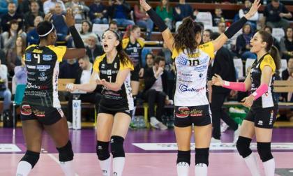 Bergamo vince il derby: al PalaGeorge è 1-3