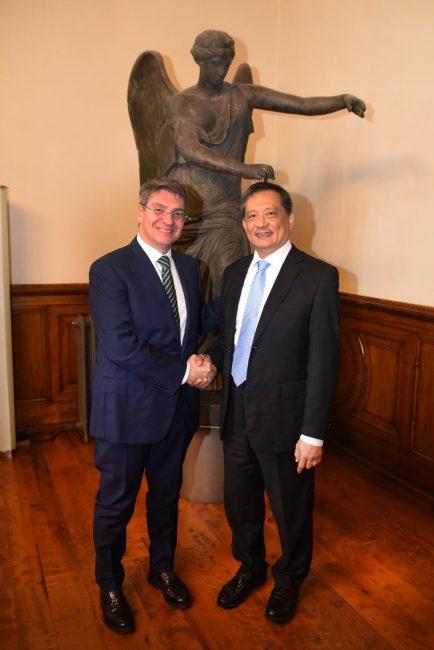 L'ambasciatore di Taiwan a Brescia per Smart City