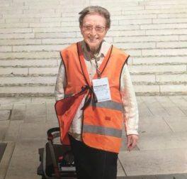 Addio a Emma Morosini, la pellegrina più anziana d'Italia