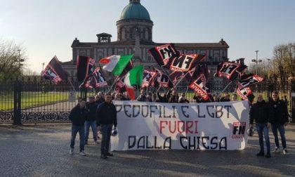 Preghiera omofoba: Forza Nuova e cattolici al santuario di Caravaggio