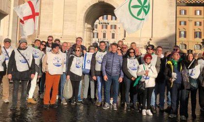 Manifestazione Lega a Roma: presenti al maxi evento anche i bresciani