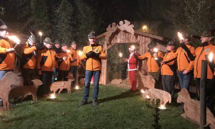 """Gli Alpini di Chiari """"illuminano"""" il Natale con la fiaccolata della Vigilia"""