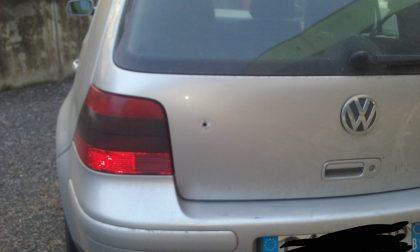 Azione intimidatoria: clarense trova foro di proiettile nell'auto