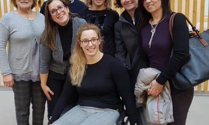 Arianna Talamona a Chiari nella Giornata internazionale della disabilità
