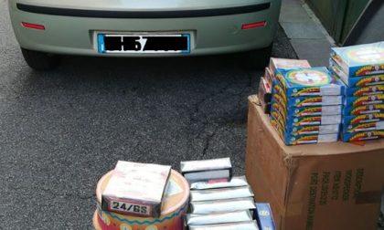 Sequestrati artifici pirotecnici illegali in un negozio di Calvisano