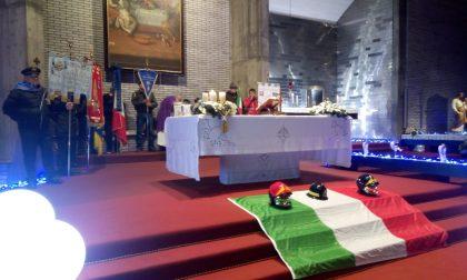 Vigili del Fuoco in festa per Santa Barbara a Palazzolo VIDEO