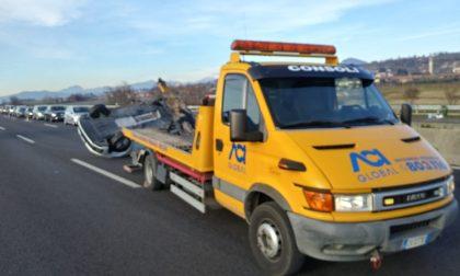 Doppio incidente in A4 sul tratto tra Palazzolo e Rovato
