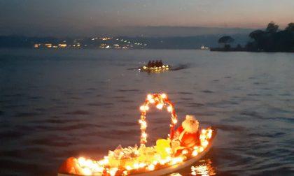 Babbo Natale è sbarcato a Gardone Riviera