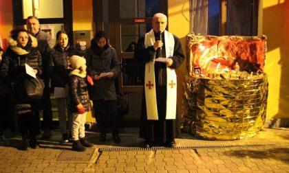 Benedetto il presepe: tradizionale cerimonia a Capriolo