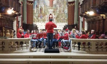 Concerto natalizio della civica banda Vinaccesi di Offlaga