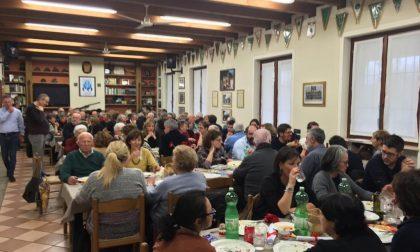 Tradizionale pranzo del bollito a Orzinuovi organizzato dall'associazione Go