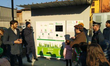 Inaugurazione a Gottolengo dell'ecocompattatore